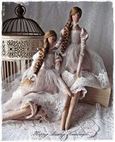Telas y lana para juguetes, muñecas Tilde y otros |  VK