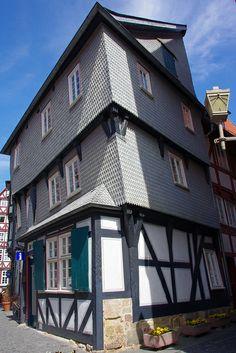 "Medieval ""Flatiron"" - Fritzlar, Hesse, Germany"