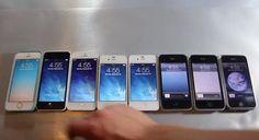 Vídeo compara lado a lado a velocidade de todos os modelos de iPhone já lançados