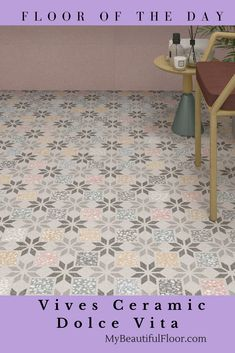 Floor of the Day - Vives Dolce Vita Ceramic #tiletuesday #porcelaintile #ceramictile