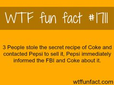 Secret recipe Weird Facts, Fun Facts, Science Facts, Fact Of The Day, Know It All, Life Hacks, Cool Stuff, Lol, Amazing