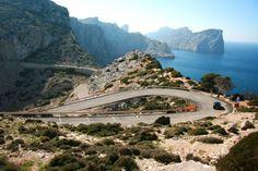 Cap de Formentor Cycling Climb in Majorca