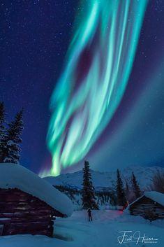 Aurora Borealis in Wiseman, Alaska by Fred Haaser on 500px