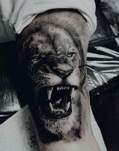 Top Lion Sleeve Tattoo Designs Ideas And Meaning Tattoos by Madie Roob such as Lion Tattoo Arm, Lion Shoulder Tattoo, Lion Tattoo Meaning, Mens Lion Tattoo, Lion Tattoo Design, Bicep Tattoo, Best Tattoo Designs, Tattoo Sleeve Designs, Forearm Tattoos