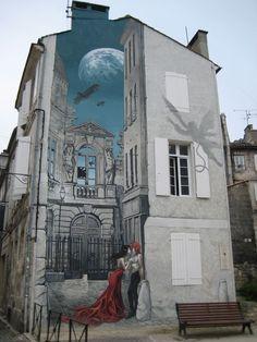 Angoulême, la ciudad en la que el cómic y el street art se fusionan (FOTOS)