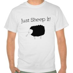 Just Sheep It T-Shirt. Software engineers, programmers, coders will love this funny tshirt.