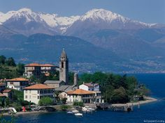 Lake Como (Lago di Como) is one of the famous Italian Lakes destinations, not far from Milan in the north of Italy. Description from villavillas.com. I searched for this on bing.com/images