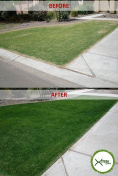 See the difference Xtreme Green Grass Alabama Lawn Painting can make to YOUR lawn! XtremeGreenGrassAlabama.com
