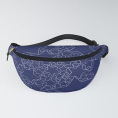 The fanny pack is back! They say fashion is cyclical and those people probably held onto their old fanny packs—but for the rest of us looking for a rad new accessory to our party/festival/everyday look, look no further. Our fanny pack features an adjustable waist strap and is made from a durable yet comfortable canvas-like material. It's comfy enough for the everyday but durable enough to take on whatever kind of hikes you're into. - Durable pol...