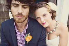 california chic gingham winery wedding - Google Search