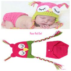 You'll find any excuse to get your hands on this adorable deal, even if it's for your second cousin's step sister's daughter who's expecting. Grab a two-piece winter-knit set for babies for $15 from Farza Wholesale. Second Cousin, Red Owl, Red Roses, Crochet Hats, Daughter, Hands, Babies, Knitting, Winter