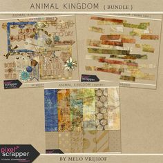 Animal Kingdom - Bundle by Melo Vrijhof