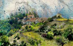 Magiczny Świat Wróżb i Przepowiedni: Pierwsze wspomnienia często są fikcyjne... River, Painting, Outdoor, Art, Outdoors, Art Background, Painting Art, Kunst, Paintings