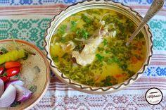 Ciorba acra de rata Palak Paneer, Guacamole, Mexican, Cooking, Ethnic Recipes, Soups, Kitchen, Soup, Brewing