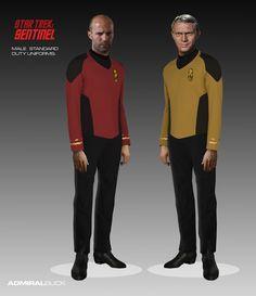 Sentinel Male Standard Duty Uniforms by Bill Krause