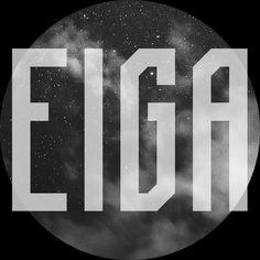 Eiga | FREE FONT on Behance