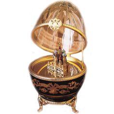"""Яйцо часы """"Собор Василия Блаженного"""" Faberge 2571-080"""