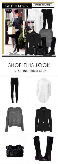 """""""Get the Look: Fave Aussie Actress!"""" by spenderellastyle ❤ liked on Polyvore featuring Nicole, Frame Denim, rag & bone, French Connection and Balmain"""
