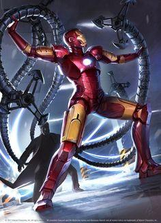 Iron Man vs. Doctor Octopus