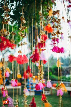 whimsical colorful wedding decor | Vintage Boho Hindu Wedding Dehradun | PhotozAapki