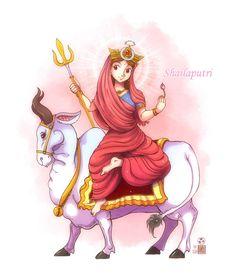 Durga maa for Vijayadashami Jai mata di! Shiva Art, Krishna Art, Hindu Art, Goddess Art, Durga Goddess, Divine Goddess, Durga Painting, Tanjore Painting, Durga Images