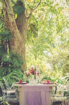 Garden Wedding Ideas in Marsala {Nadia Basson Photography}