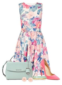 """Full of Color"" by maxine128 ❤ liked on Polyvore featuring Dorothy Perkins, MICHAEL Michael Kors, Christian Louboutin, BillyTheTree and Dettagli"