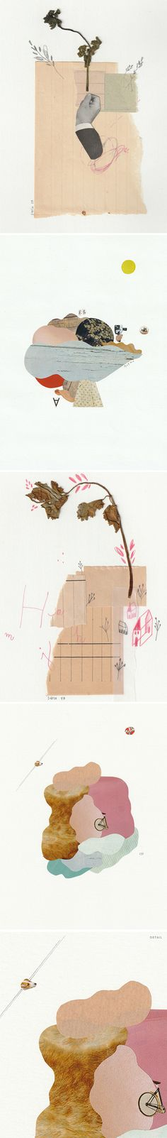 collages by marina siero
