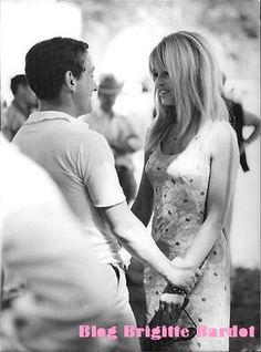Brigitte Bardot en photo n et b...que du bonheur...