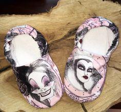 Buy Now Kiddo Kicks // Baby Booties in Disney Villians by...