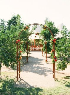 6+of+the+Most+Stylish+Outdoor+Weddings+We've+Seen+via+@mydomaine