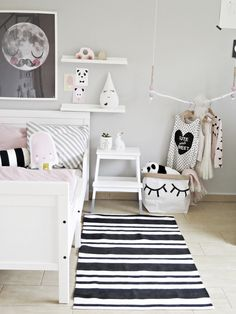 Lovely details from a scandi kids room
