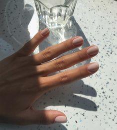 Classy Nails, Stylish Nails, Hair And Nails, My Nails, Cute Gel Nails, Natural Gel Nails, Manicure Y Pedicure, Short Nail Manicure, Nail Ring