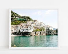 Travel Photography Prints - Wanderlust Wall Art by VitaNostra Amalfi Coast Italy, Seaside Decor, Colorful Wall Art, Beach Wall Art, Travel Aesthetic, Of Wallpaper, Aesthetic Wallpapers, Travel Photography, Scenery