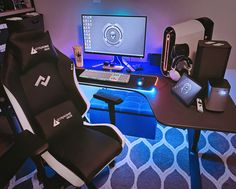 Cool Chairs, Gaming Chair, Really Cool Stuff, Highlight, Helpful Hints, Games, Tips, Red, Lights