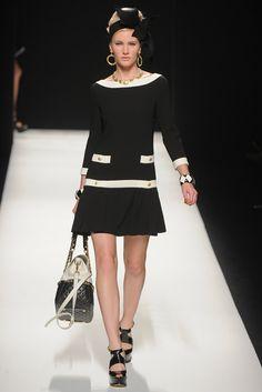 Moschino Fall 2012 Ready-to-Wear Fashion Show - Emily Baker