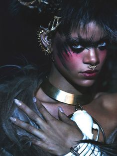 Rihanna  Photography by Mert Alas and Marcus Piggott for W Magazine