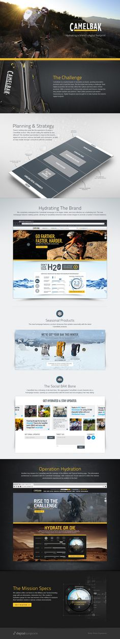 Camelbak case study!  Check out how the hydration widget works here: http://www.digitalsurgeons.com/camelbak-case-study/