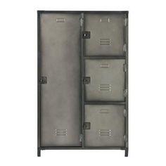 WOOOD metalen lockerkast Kick 125x75x46 cm kopen? Verfraai je huis & tuin met Buffet- & vitrinekasten van KARWEI