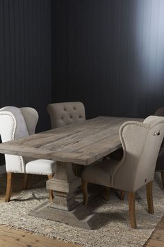 Riviera Maison ~ beautiful wood table