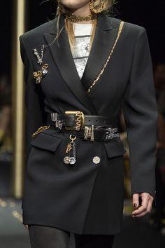 Versace at Milan Fashion Week Fall 2019 - Details