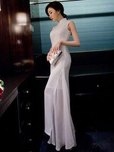 http://www.cozyladywear.com/chiffon-ankle-length-qipao-cheongsam-dress-p-1487.html