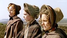 Emma Lowndes (Mary Rivers), Ruth Wilson (Jane Eyre) & Annabel Scholey ( Diana Rivers) - Jane Eyre directed by Susanna White (TV Mini-Series, BBC, 2006) #charlottebronte