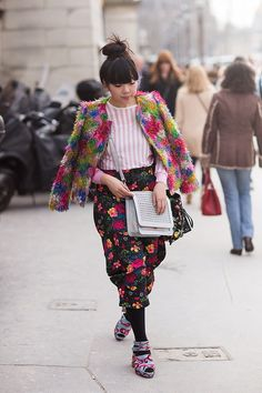Susie Lau in Paris
