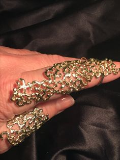 Anello Arabesque bronzo