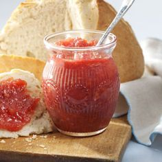 Rhubarb Marmalade: My daughter makes this marmalade every spring when rhubarb's abundant. Our family enjoys her gift…a refreshing departure in flavor from all the berry jams and jellies. —Leo Nerbonne, Delta Juction, Alaska