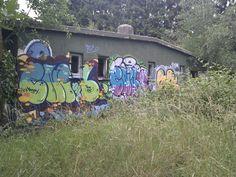 Ehemalige Kaserne in der Nähe des Nordparks in Mönchengladbach (inkl. gesprengten Turm) | Copyright: www.lost-places-nrw.de