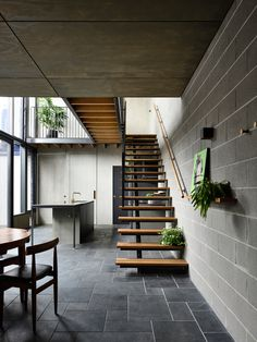 Compact apartment idea for light, Zen Architects - Project Nymph - South. - Compact apartment idea for light, Zen Architects – Project Nymph – South Yarra, Vic - Terraced House, Pergola With Roof, Wooden Pergola, Sustainable Architecture, Architecture Design, Fashion Architecture, Contemporary Architecture, Victorian Terrace House, Casas Containers