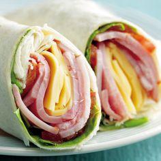 Wrap jamón y queso