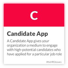 Tydy's HR Glossary - Candidate App
